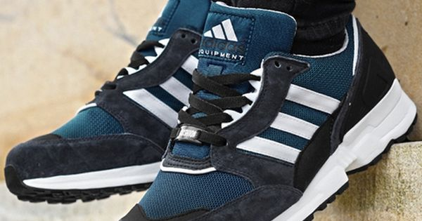 Adidas Eqt Running Cushion Tribe Blue Sneakers Casual Sneakers Adidas
