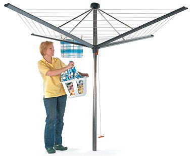 Collapsible Outdoor Clothes Dryer This Modern German Made Clothes Dryer Is A Far Cry From The Space Hogging Rotary Clotheslines Of Decades Pas Sombrinha Barco