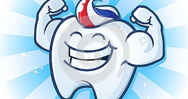 Personaje de dibujos animados del diente | ABCDario | Pinterest