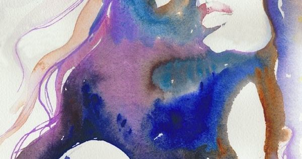 watercolor portrait / cate parr