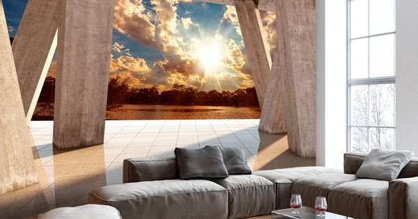 details zu vlies fototapete 3 farben zur auswahl tapeten abstrakt 3d optik c b 0079 a b. Black Bedroom Furniture Sets. Home Design Ideas