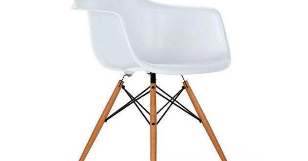 Eames daw design stoelen in het wit op op huis en inrichting stoelen home - Stoelen eames ...