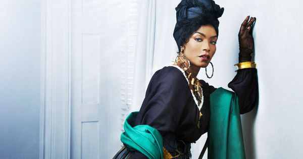 Angela Bassett stars on American Horror Story: Coven as Marie Laveau, a