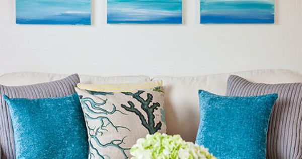 How To Make A Seascape Canvas Better Homes And Gardens