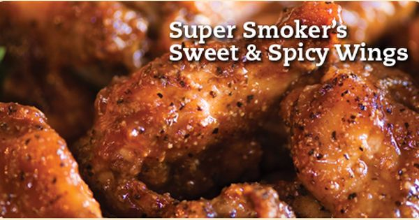 Super Smoker S Sweet Spicy Wings Dadgum That S Good