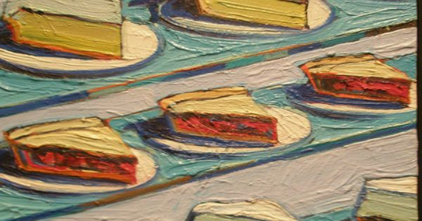 Geometry, pastries and paint: an interview with Wayne Thiebaud