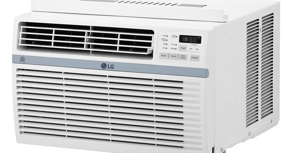 Lg Lw1016er 10000 Btu 115v Windowmounted Air Conditioner With Remote Control Cli In 2020 Window Air Conditioner Room Air Conditioner High Efficiency Air Conditioner