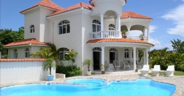 Dominican Republic Houses Playa Cofresi Vacation Rental