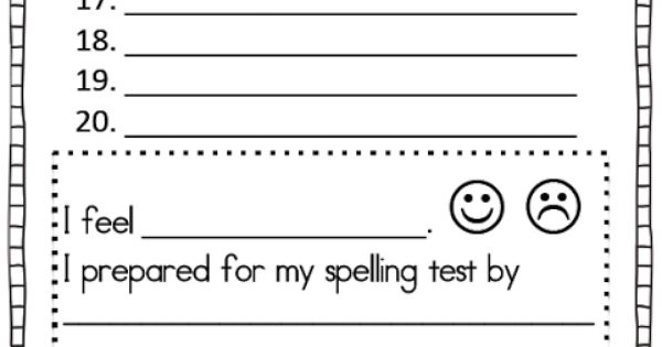...   Classroom ideas   Pinterest   Template, Spelling and Spelling test