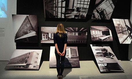 Bauhaus Exhibition Traces The Art And Life Of A Design Pioneer Bauhaus Art Exhibition Studio Interior