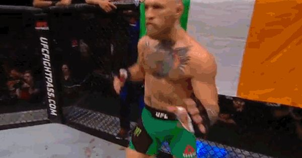 Dance Dancing Excited Fight Entrance Conor Mcgregor Ufc202 Ufc 202 Hyped The Notorious Gif From Giphy Ufc 202 Conor Mcgregor George St Pierre