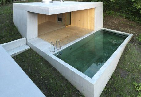 Best Swimming Pools Amp Spas Designs Small Outdoor Concrete