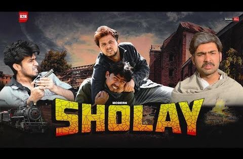 Sholay Round2hell R2h Youtube Bollywood Movie Spoofs Music Labels