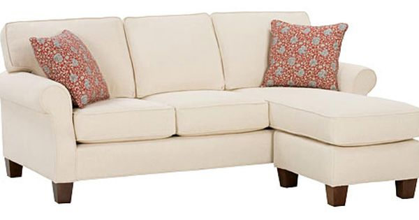 Traditional Casual Apartment Sofa W Chaise Rolled Arms Apartment Size Sofa Couch With Chaise Sectional Couch
