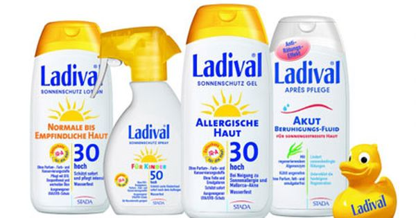 Ladival Sonnenschutz Sonnenschutz Gratisproben Empfindliche Haut