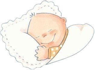 Dibujos De Bebes Durmiendo Imagenes Y Dibujos Para Imprimir Baby Clip Art Baby Painting Baby Mini Album