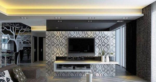 ديكور جبس للتلفزيون ديكورات معلقة و ديكورات خشب ميكساتك Tv Wall Design Tv Wall Decor Tv Wall Mount Designs