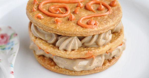 Mille-feuille/Napoleon - Custard Slice | Tea Party | Pinterest ...