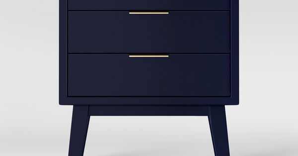 Hafley Three Drawer End Table Oxford Blue Project 62 End Tables With Drawers End Tables Coaster Furniture