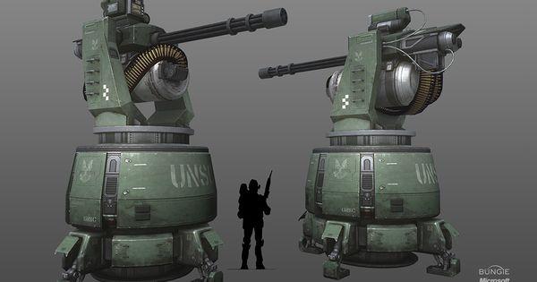 Paintball Machine Gun Turret
