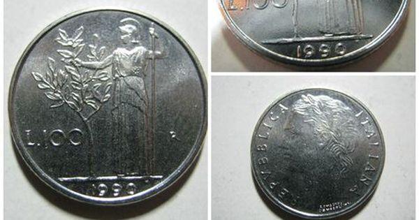 Valore Moneta 100 Lire Monete Lira Italiana Monet