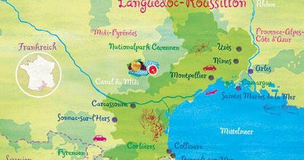 Sudfrankreich Languedoc Roussillon Salut Unbekannter Suden Brigitte De Sudfrankreich Urlaub Frankreich Urlaub Frankreich