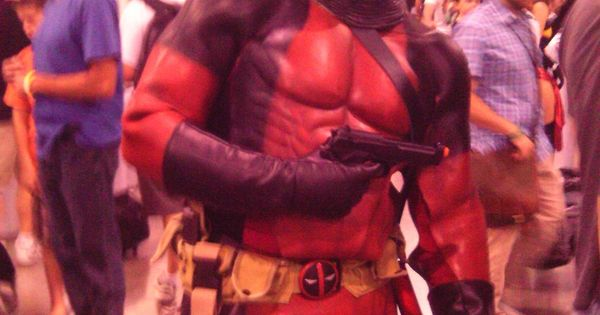 Deadpool costume. Great for a costume party!