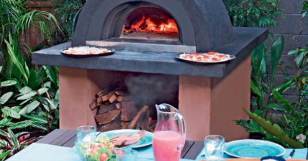 wood-fired pizza oven | Build A Pizza Oven, Pizza Ovens and Better ...