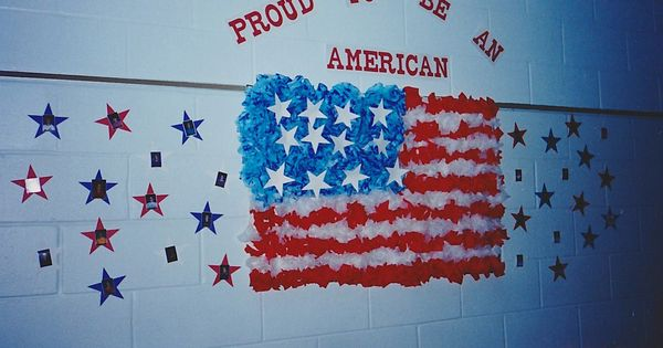 flag day bulletin board ideas