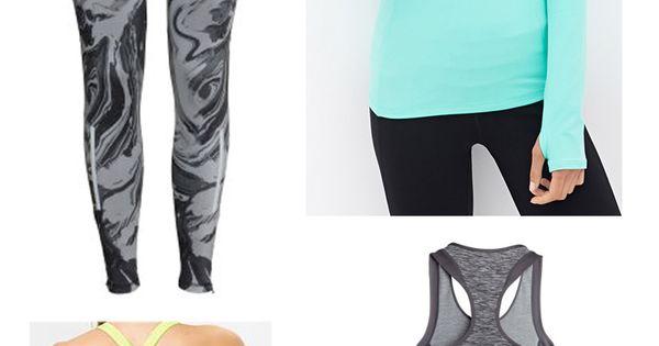 Workout clothes flats to flip flops blog pinterest active wear