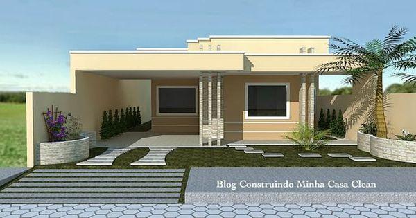 Fachadas casas pequenas com garagem pesquisa google for Google casas modernas
