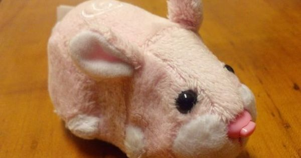Zhu Zhu Pets Toy Sweetie The Pink Bunny Rabbit Wild Bunch Pet
