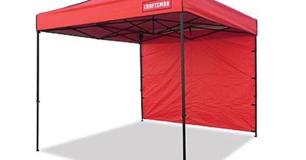 Craftsman 10 X 10 Instant Commercial Canopy 2 Canopy Tent