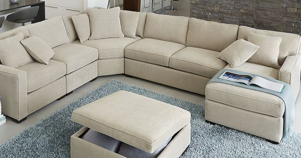 Radley Fabric Sectional Sofa Living Room Furniture Collection Furniture Macy 39 S Would Need