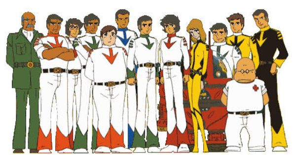 Image result for space battleship yamato characters