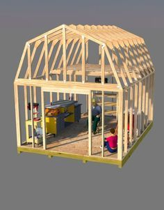 12x16 Barn Plans Shed