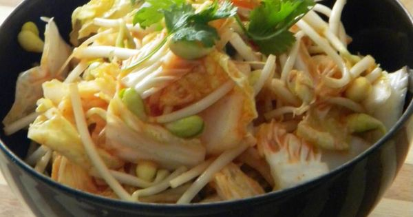 Napa cabbage, Bean sprouts and Rice vinegar on Pinterest