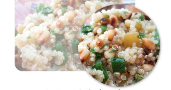 Quinoa salad, Quinoa and Cilantro on Pinterest