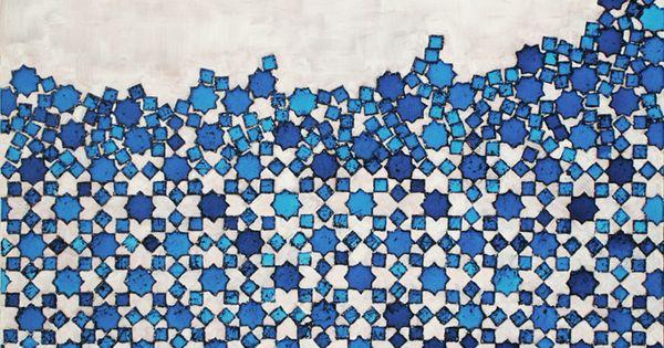 """Woody Allen"" ~ artist John Squire art pattern"