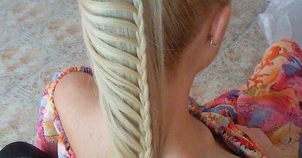 ponytail braids. To do with my friends who have long hair.