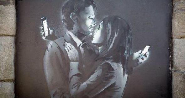 Caught on camera cctv shows banksy working on mural now for Banksy mural sold