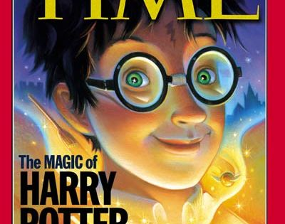 "Time Magazines Cover ""The Magic of Harry Potter"""