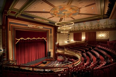 The Grand Opera House Is A Historic Opera House Located At The Corner Of High Ave And Market Street In Oshkosh Wisconsin Built Opera House Oshkosh Wisconsin