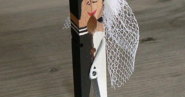 porte num ro de table pince linge sale mariage de par arcina mariage pinterest num ros. Black Bedroom Furniture Sets. Home Design Ideas