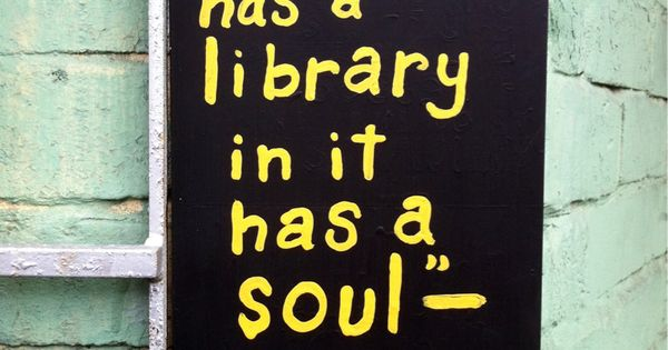 give the house some soul - Plato quote - book quote