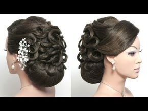 Bridal Updo Wedding Prom Hairstyle For Long Hair Tutorial Youtube Long Hair Tutorial Bun Hairstyles For Long Hair Long Hair Styles