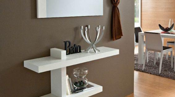 Mobile moderno consolle ingresso mod sandy mobili - Arredamento ingresso soggiorno ...