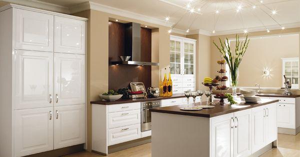 Cuisine quip e polaris blanc brillant 7890 lectro for Avis sur cuisine aviva