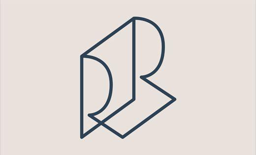 Roser Ribas interior designer logo design branding