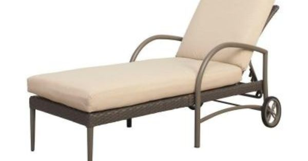 Create your own collection hampton bay posada patio chaise for Build your own chaise lounge